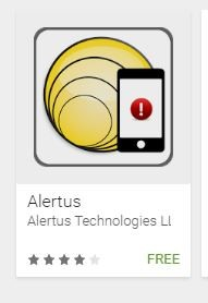 Android Alertus App