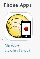 iphone Alertus App