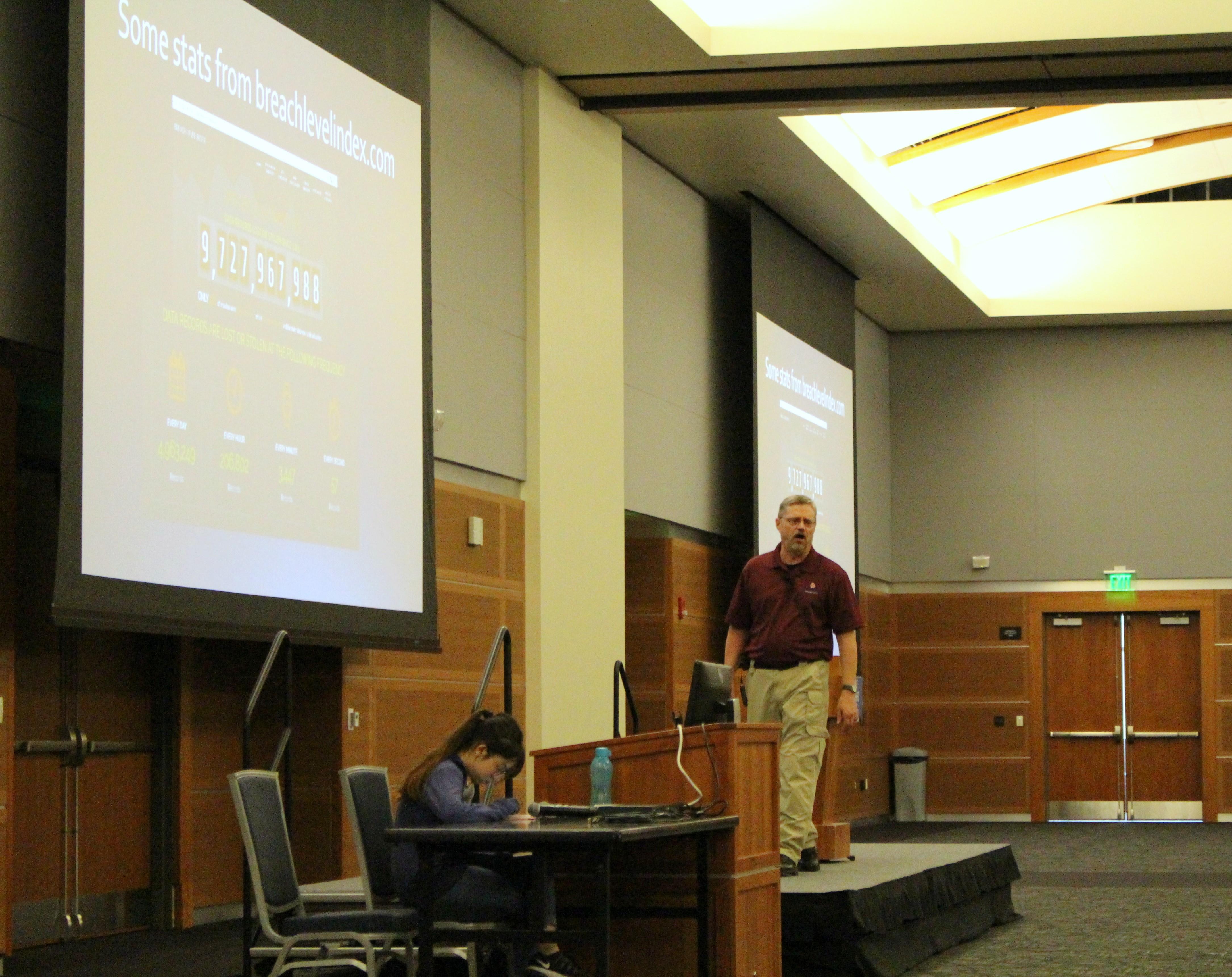 Steve Mallard Speaking at Cyber Summit