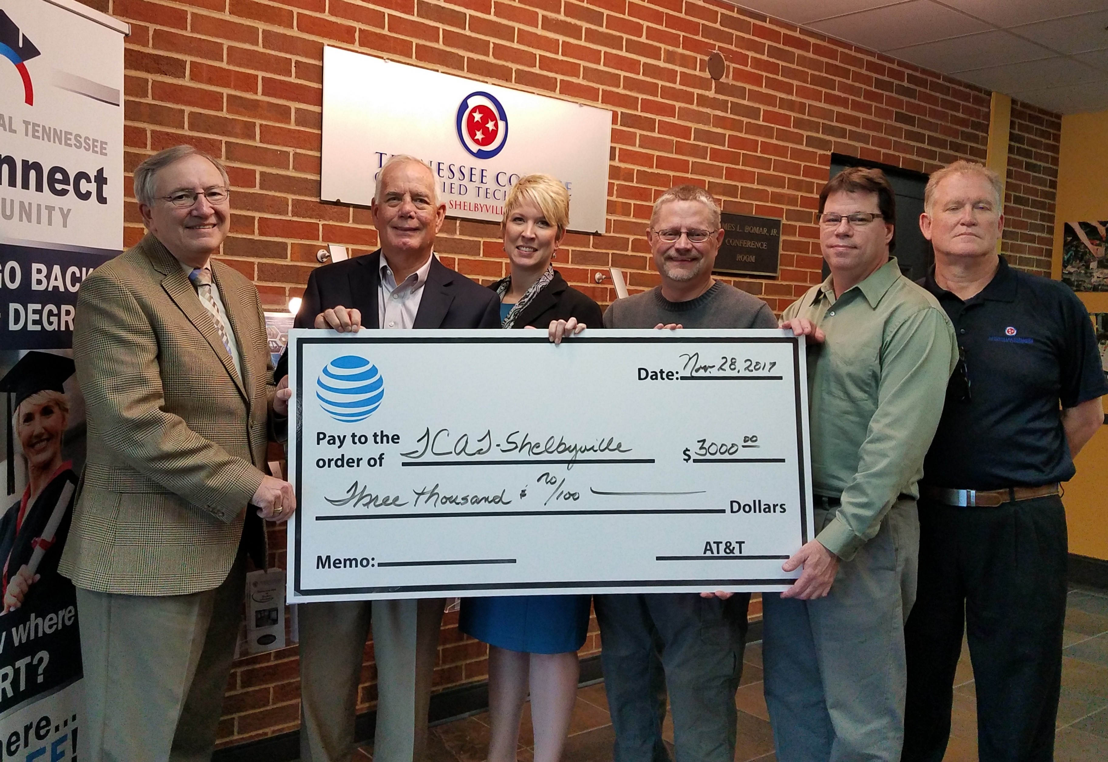 AT&T Donation